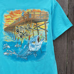 Pier Fishing Pocket Tee