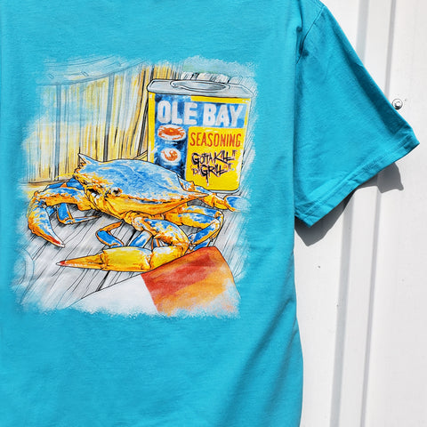Ole Bay Crab Pocket Tee