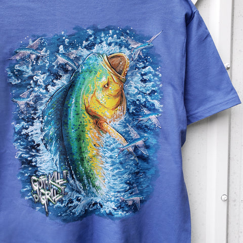 Mahi & Flying Fish Pocket Tee