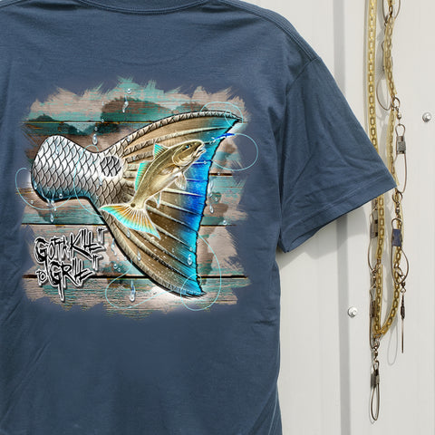 Redfish Tail Pocket Tee