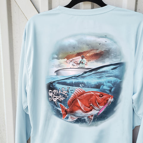 Red Snapper Performance Shirt