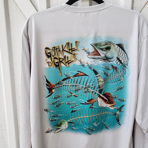 Mackerel Cobia Performance Shirt