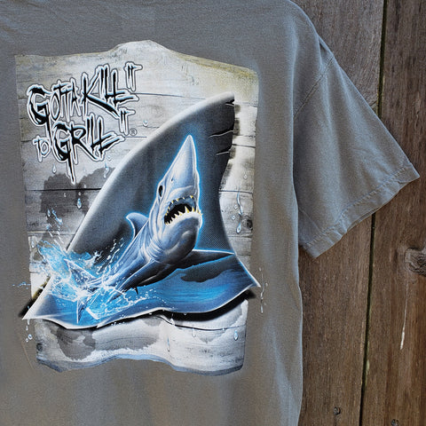 Shark Tail Pocket Tee
