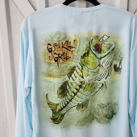 Bass Fishing Performance Shirt