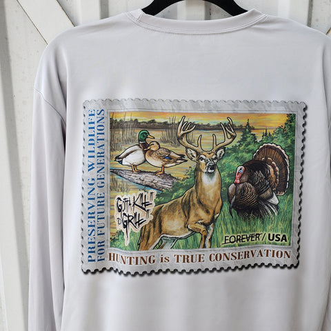Hunting Conservation Stamp Performance Shirt