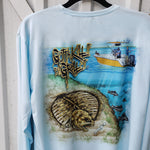 Jig Line Flounder Performance Shirt