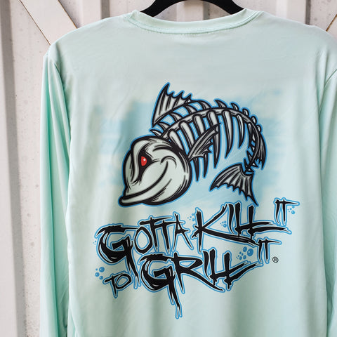 GKITGI Logo Fish Performance Shirt