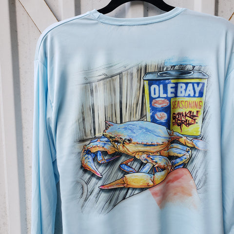Ole Bay Crab Performance Shirt