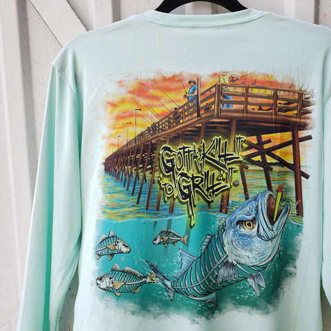 Pier Fishing Performance Shirt