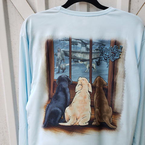 Duck Hunt Puppies Performance Shirt