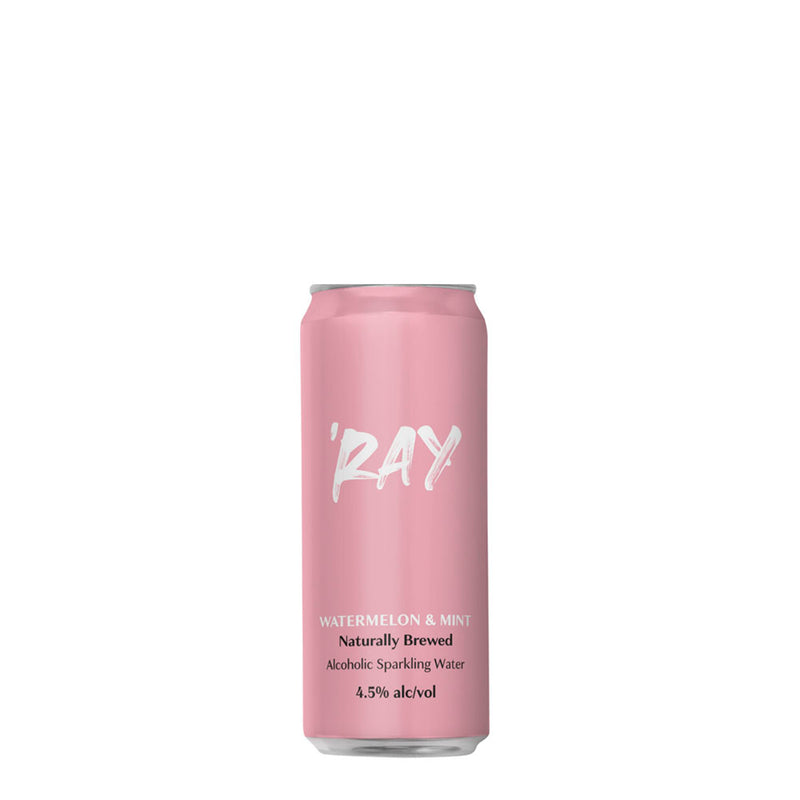 Ray | Hard Seltzer | Watermelon & Mint |