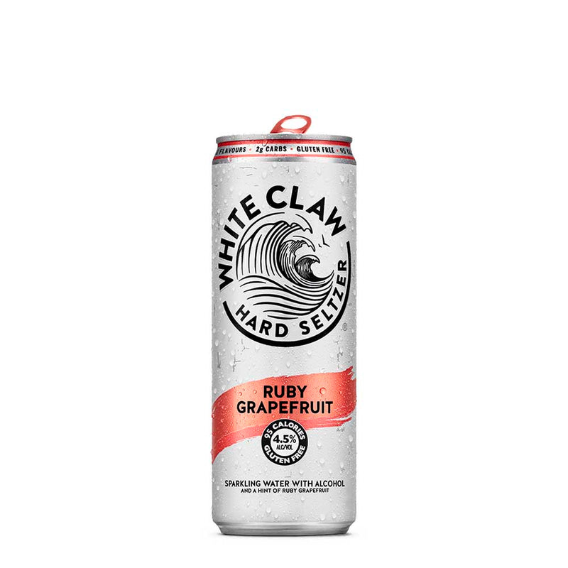 White Claw | Hard Seltzer | Ruby Grapefruit - SOLD OUT UNTIL NOV