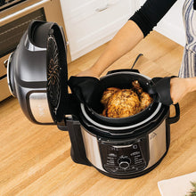 Load image into Gallery viewer, Ninja Foodi 9-in-1 Pressure, Broil, Dehydrate, Slow Cooker, Air Fryer, and More, with 8 Quart Capacity and 45 Recipe Book, and a Stainless Finish