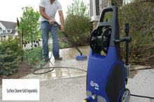 Load image into Gallery viewer, AR Annovi Reverberi Blue Clean, AR383 1,900 PSI Electric Pressure Washer, Nozzles, Spray Gun, Wand, Detergent Bottle & Hose
