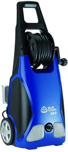 AR Annovi Reverberi Blue Clean, AR383 1,900 PSI Electric Pressure Washer, Nozzles, Spray Gun, Wand, Detergent Bottle & Hose (Pack 1)