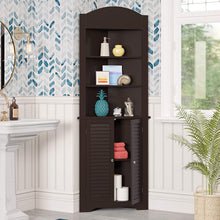 Load image into Gallery viewer, RiverRidge Ellsworth Collection Tall Corner Cabinet, White