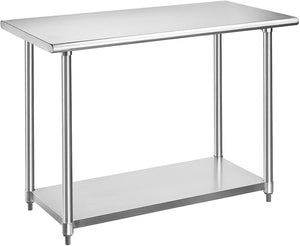 Rockpoint HX Table Stainless, 48x24inch