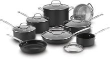Load image into Gallery viewer, Cuisinart 66-14N 14 Piece Chef's Classic Non-Stick Hard Anodized Cookware Set, Gray