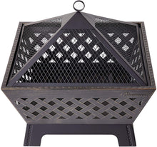 Load image into Gallery viewer, Landmann 25282 Barrone Fire Pit, 26&quot, Antique Bronze