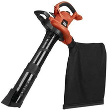 Load image into Gallery viewer, BLACK+DECKER (BV6600) 3-in-1 Electric Leaf Blower, Leaf Vacuum, Mulcher, 12-Amp