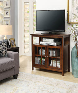 Convenience Concepts Big Sur Highboy TV Stand, Espresso
