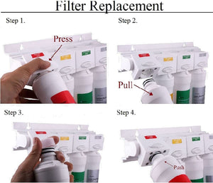 Watts Premier Ro Pure Replacement Filter 6-pack Plus Membrane