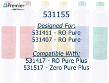 Load image into Gallery viewer, Watts Premier Ro Pure Replacement Filter 6-pack Plus Membrane