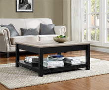 Load image into Gallery viewer, Ameriwood Home Carver Coffee Table, Black (Black Coffee Table)