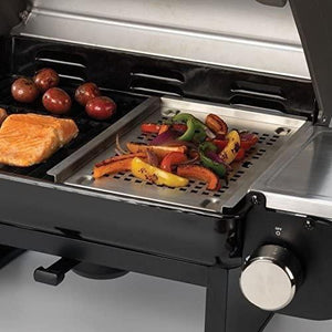 Cuisinart CGG-240 All Foods Roll-Away Gas Grill, Stainless Steel