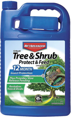 BioAdvanced 701525 12 Month Tree and Shrub Insect Control Landscape Formula Concentrate, 1-Gallon