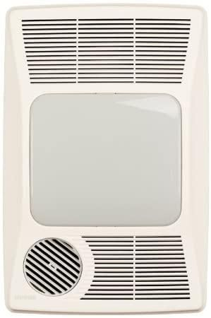 Broan-NuTone 100HL Directionally-Adjustable Bath Fan with Heater and Incandescent Light