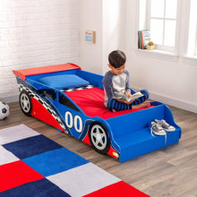 Load image into Gallery viewer, Race Car Toddler Bed