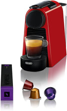 Load image into Gallery viewer, Nespresso by De'Longhi EN85R Essenza Mini Original Espresso Machine by De'Longhi, Red