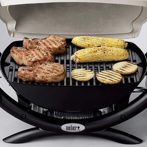 Weber 50060001 Q1000 Liquid Propane Grill,Chrome