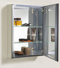 Load image into Gallery viewer, KOHLER K-2967-BR1 20 inch x 26 inch Aluminum Bathroom Medicine Cabinet with Oil-Rubbed Bronze Framed Mirror Door; Recess or Surface Mount