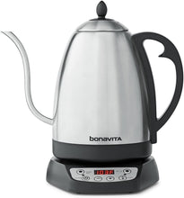 Load image into Gallery viewer, Bonavita 1.7L Variable Temperature Kettle Featuring Gooseneck Spout, BV382518V (1.7 Liters)