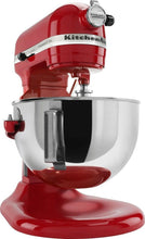 Load image into Gallery viewer, KitchenAid - KV25G0XER Professional 500 5QT, 450 Watt Bowl Lift Stand Mixer - Empire Red