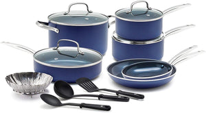 Blue Diamond CC001951-001 Cookware-Set, 14pc