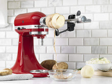 Load image into Gallery viewer, KitchenAid KSM2APC Spiralizer Plus Attachment with Peel, Core and Slice, Silver