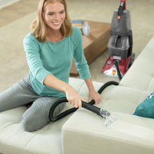 Load image into Gallery viewer, Hoover - Power Scrub Deluxe Corded Carpet Upright Deep Cleaner - Red
