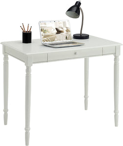 Convenience Concepts French Country Desk, White