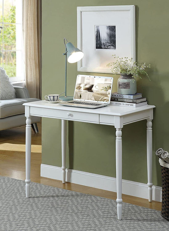 Convenience Concepts French Country Desk, White (White)