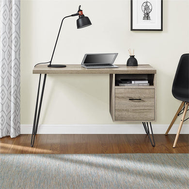 Ameriwood Home Landon Desk, Weathered Oak