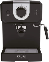Load image into Gallery viewer, KRUPS XP3208 15-BAR Pump Espresso and Cappuccino Coffee Maker, 1.5-Liter, Black (Espresso Maker)