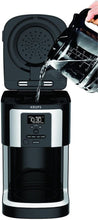 Load image into Gallery viewer, KRUPS XP3208 15-BAR Pump Espresso and Cappuccino Coffee Maker, 1.5-Liter, Black