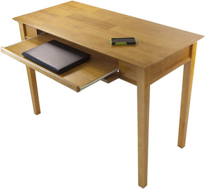 Winsome Wood Studio Home Office, Honey