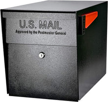 Load image into Gallery viewer, Mail Boss 7106 Curbside Security Locking Mailbox, Black (Black)