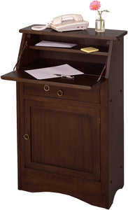 Winsome Wood Regalia Home Office, Walnut