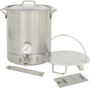 Bayou Classic 800-408 - 8-Gal Premium Brew Kettle, 6-Pc Set