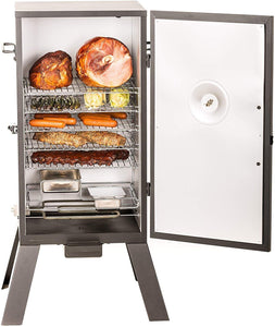"Masterbuilt MB20070210 MES 35B Electric Smoker, 30"" Black with 3 Smoking Racks (Newer Version)"